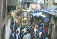મુંબઈમાં ભારે વરસાદનો કહેર, મલાડમાં ઢસડી પડી ચાર માળની બિલ્ડિંગ, 11ના મોત