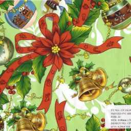 Carpetas de Navidad 50yds #13