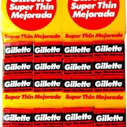 GILLETTE SUPER THIN 100PCS CARTON