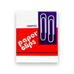 CLIP DE PAPEL 50MM METALICO 1000PCS