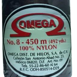 HILO NYLON OMEGA #8 450m 12PZ CHOCOLATE C15