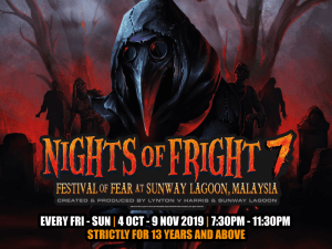 Nights of Fright 7 will be extended until 9 Nov