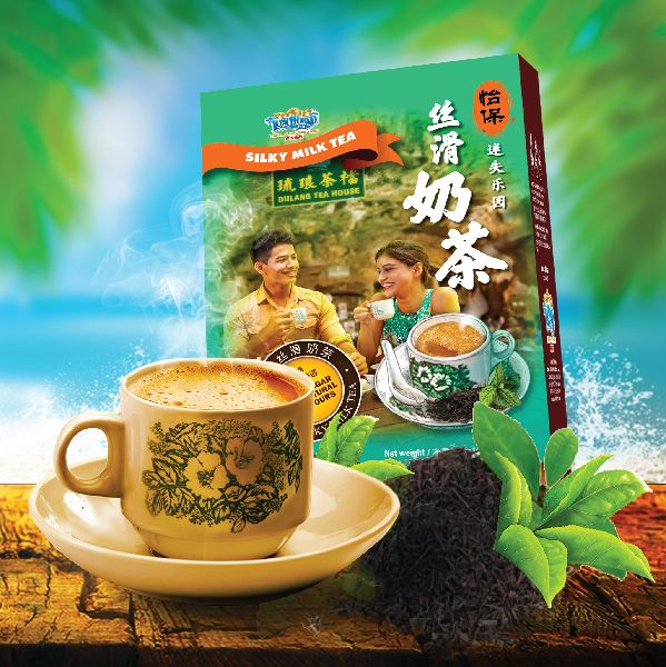Enjoy the pour-over brewing of Ipoh White Coffee.