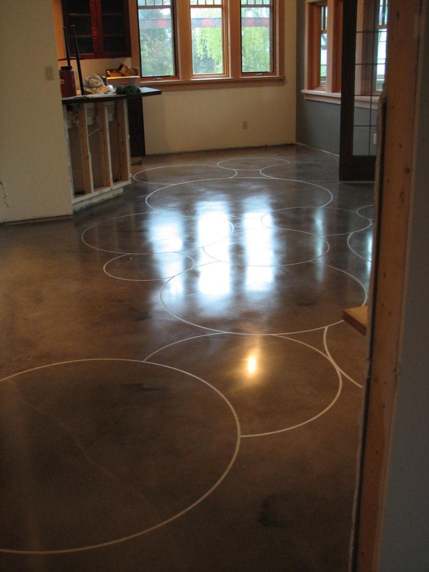 Decorative Concrete Floors Kamloops BC Canada