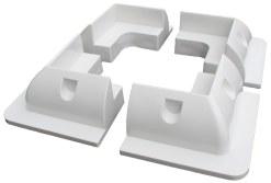 solar panel mounting pads