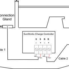 Wiring Diagram For Solar Panels On A Caravan Lawn Mower Charge Controller With Lcd Display 11 Amp Sunworks