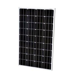 Rigid framed solar panels