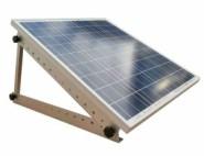 Motorhome solar panel frame