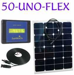 semi-flexible solar panel kit