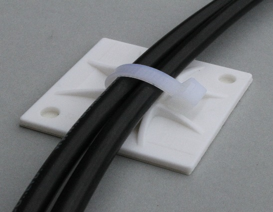 Solar cable attachment