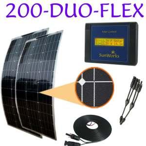 two 100 watt semi-flexible