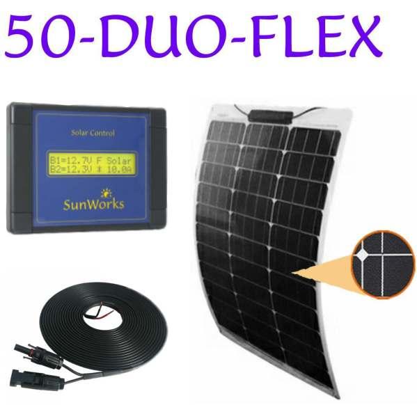 semi-flexible solar panel kits for boats