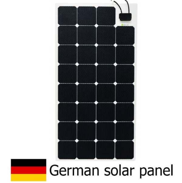 semi flexible solar panel