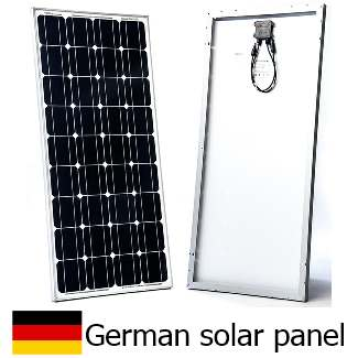 solar panel for motorhomes