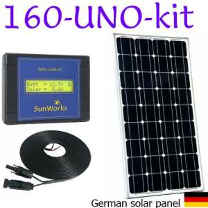 motorhome solar panel kit