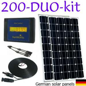solar panel kit for narrowboats