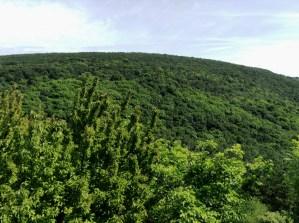 Magas-Frank-hegy a Farkas-hegyről