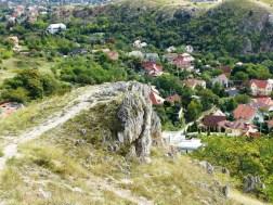 Kis-Budaörs és a Kő-hegy az Odvas-hegyről