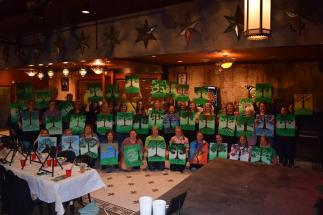 Olive Ridley's hosts fun Painting Parties.