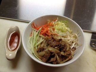 """Betsy praises Sawatdee, a local Thai restaurant, for being vegan-friendly. She says it's, """"One of my favorite places to eat out in Plattsburgh!"""""""
