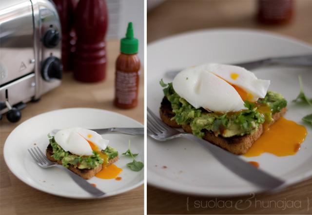 avokado-kananmunaleivät