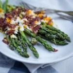 Neljän raaka-aineen luksusta – grillattua parsaa