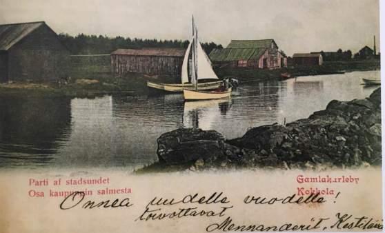 postikortti vuodelta 1902