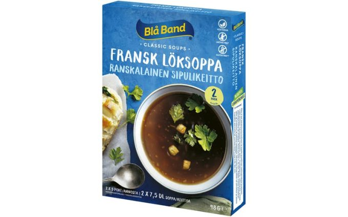 Blå Band Gluten Free French Onion Soup 2x49g