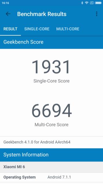Geekbech