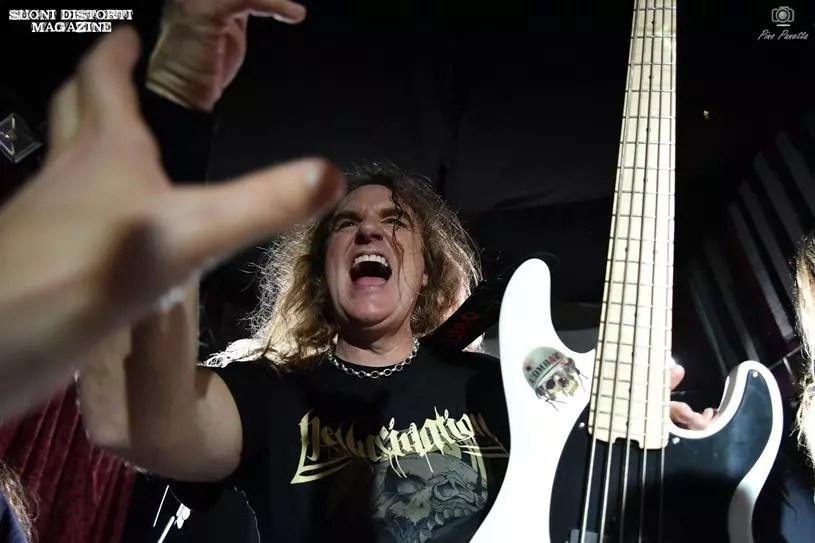 """David Ellefson (Megadeth) + guests: le foto del """"Basstory clinic"""" a Torino"""