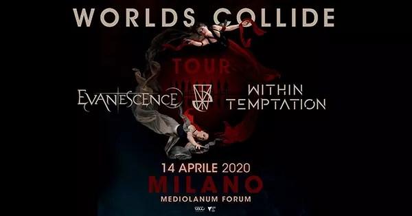 Evanescence + Within Temptation a Milano ad aprile