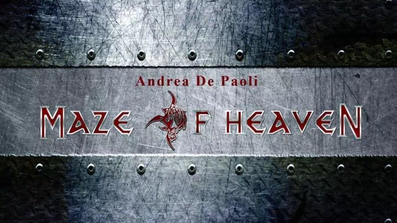 Intervista Andrea De Paoli's MAZE OF HEAVEN