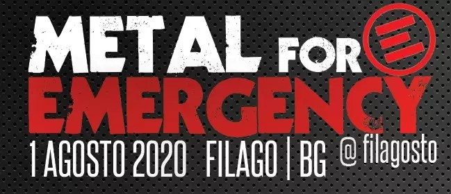Metal for Emergency 2020, annunciata la data