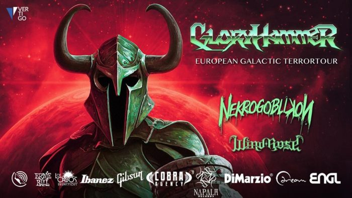 GloryHammer: dal vivo per una data a Milano, cambio location!