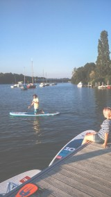 After work Nantes en Stand Up Paddle