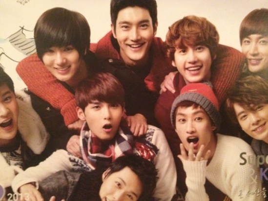 121123 Kyochon – Super Junior's 2013 Global Calendar [12P]