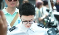160829 Donghae at Myeongdong by Charmander1015 2