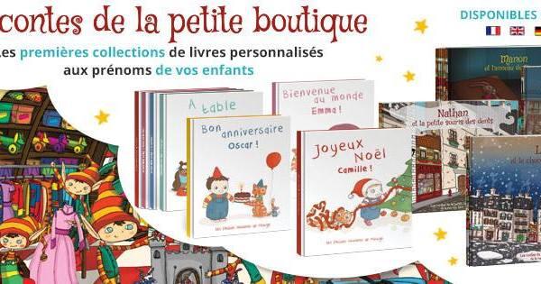 #Concours : Les enfants Roy, des livres personnalisés avec le prénom de votre enfant !