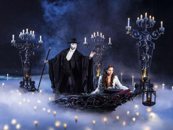 Le Fantôme de l'Opéra viendra hanter le Théâtre Mogador à Paris dès octobre 2016.
