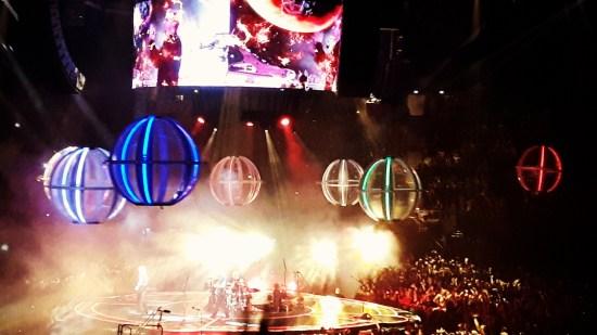 Muse en concert à Paris !
