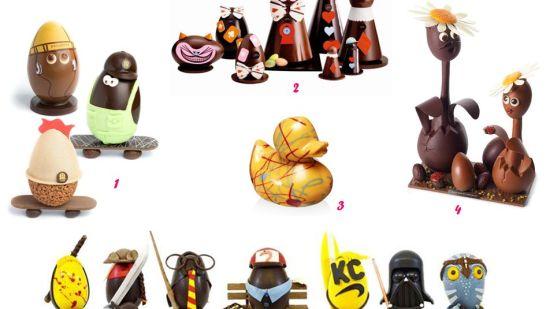 L'oeuf de Pâques revisité par les chocolatiers
