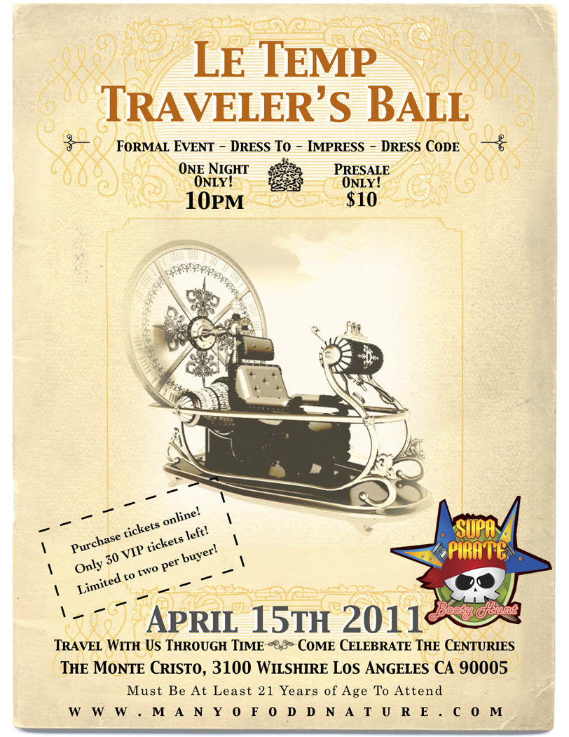 Le temp Traveler's Ball
