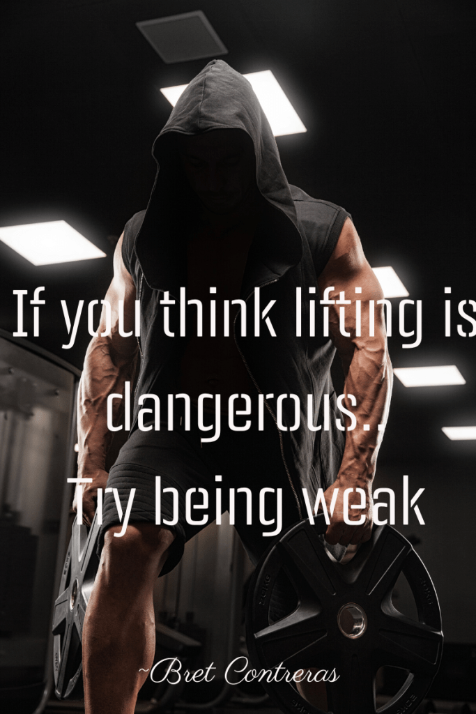 inspirational quote lifting