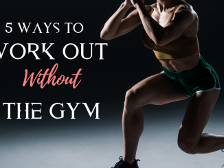 5 ways to work out at home quarantine