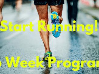 start running. running program