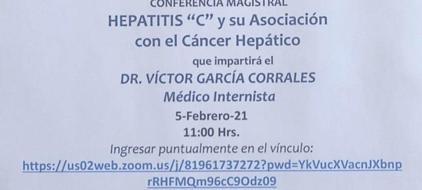 Conferencia «Hepatitis C y su Asociación con el Cáncer Hepático».