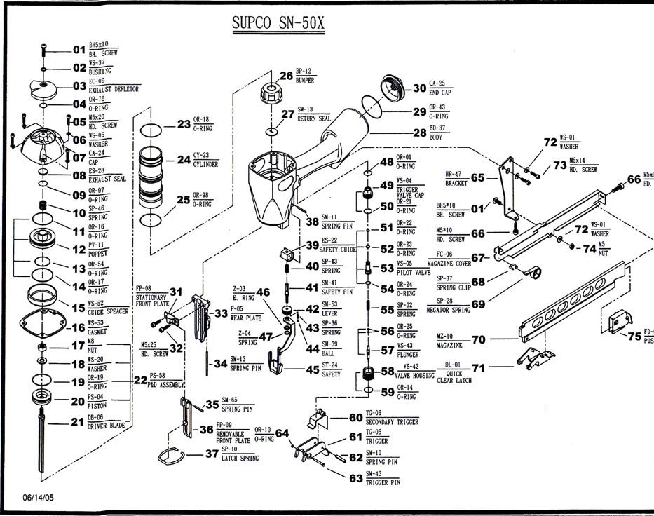 SUPCO TOOL SN-50X