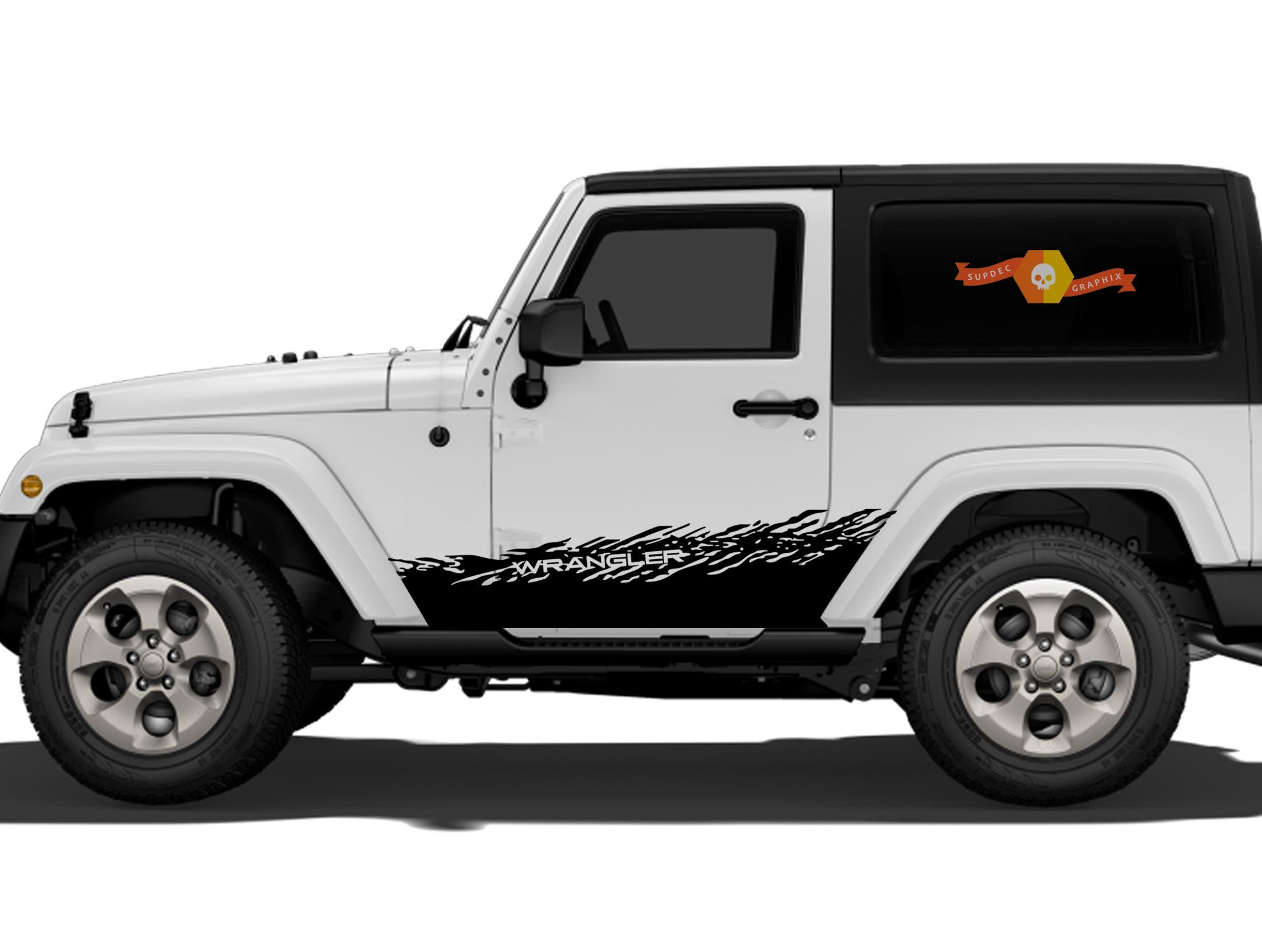 Product: JEEP Decal Sticker splash side rocker door