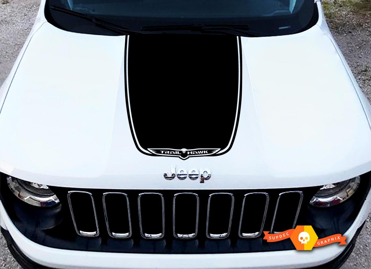hight resolution of 2014 2017 jeep cherokee trail rated sport vinyl hood decal sticker graphic