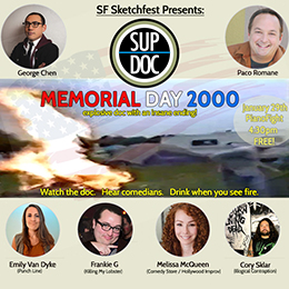 Ep 50 MEMORIAL DAY 2000 live at SF Sketchfest 2017